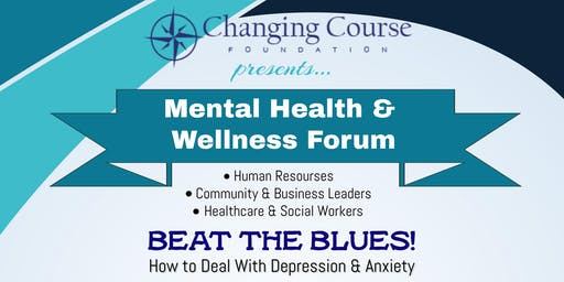 Beat The Blues! Learn steps on how to deal with Depression and Anxiety