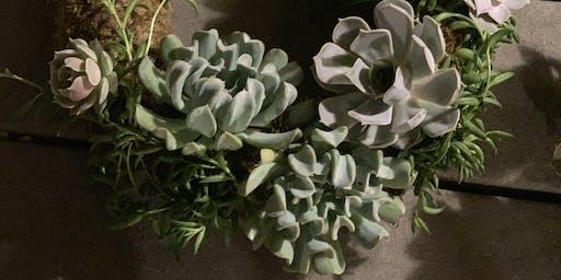 DIY Succulent Wreath Workshop