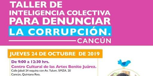 Taller: Inteligencia colectiva para denunciar la corrupción