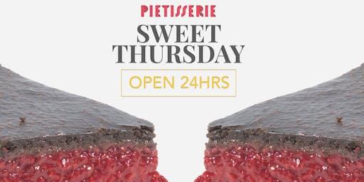 Sweet Thursday at PieTisserie (2019)