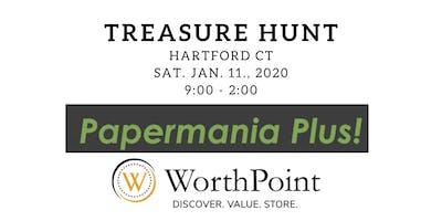 Antique Paper Show Treasure Hunt in Hartford CT