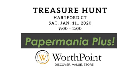 Antique Paper Show Treasure Hunt in Hartford CT tickets
