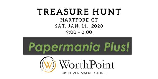 Antique Paper Show Treasure Hunt in Hartford CT