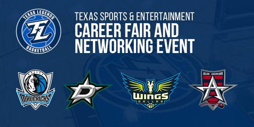 Texas Sports and Ent. Career Fair and Networking Event with Texas Legends