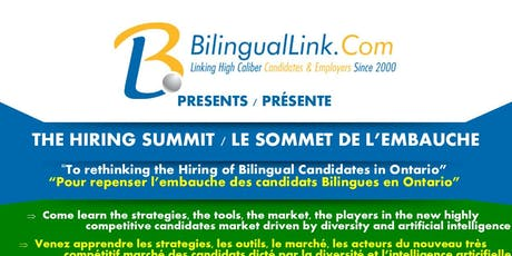 Rethinking The Hiring of Bilingual Candidates tickets