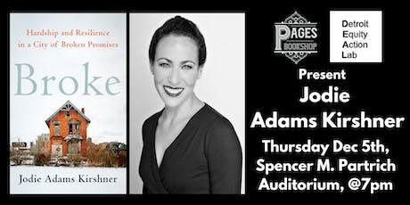 Pages Bookshop & the Detroit Equity Action Lab Present Jodie Adams Kirshner tickets