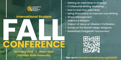 International Student Fall Conference tickets