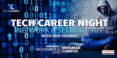 Tech Career Night: Network & Certifications.  A free hands-on workshop