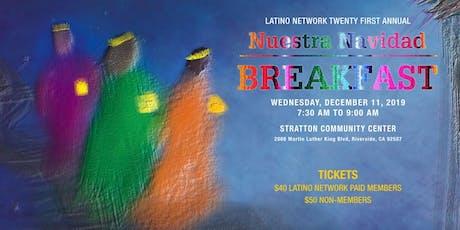 21st Annual Nuestra Navidad Breakfast tickets