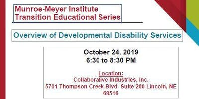 Lincoln Nebraska Developmental Disabilities Services Overview
