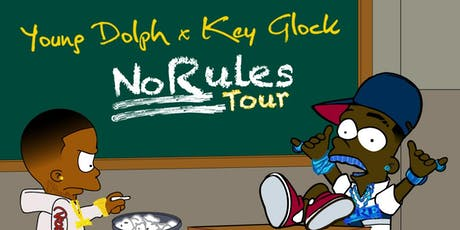Young Dolph & Key Glock - No Rules Tour tickets