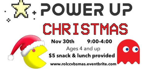 VBSmas: PowerUP Christmas tickets