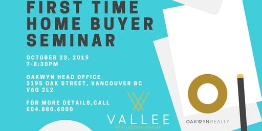First Time Home Buyer Information Event