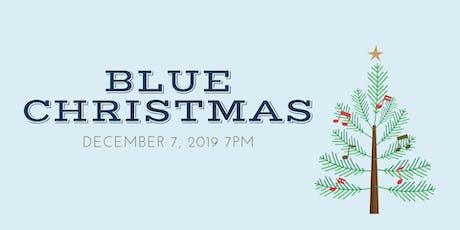 Blue Christmas tickets