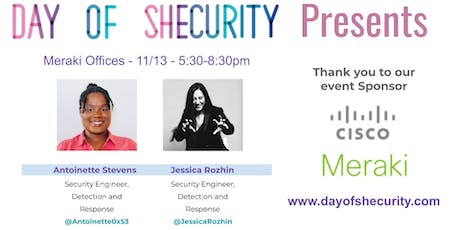 Day of Shecurity Presents tickets