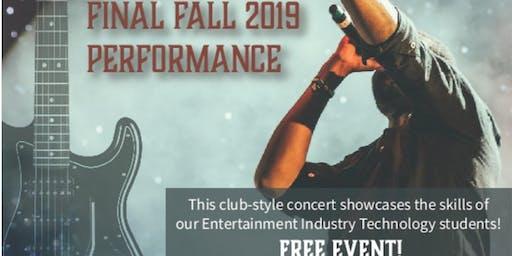 Rocktacular Fall 2019 Final Performance