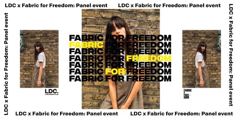 LDC x Fabric for Freedom: A 360° Approach to Sustainable Fashion tickets