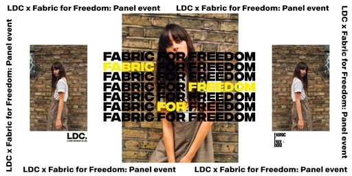 LDC x Fabric for Freedom: Circular Fashion - Make Your Clothes Last