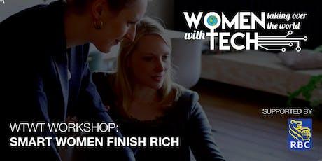 WTWT Workshop: Smart Women Finish Rich tickets