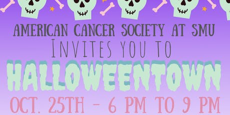 American Cancer Society at SMU's Halloween Town tickets
