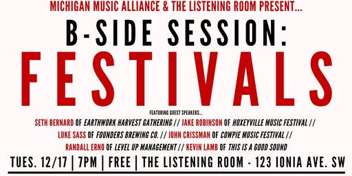 B-Side Session: Festivals - SOLD OUT