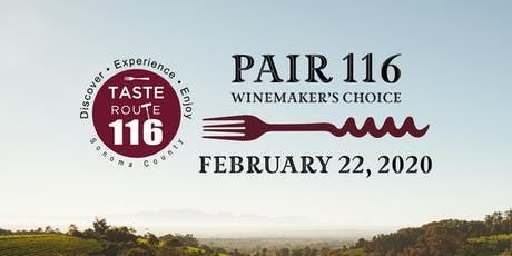 Pair 116 Winemaker's Choice tickets