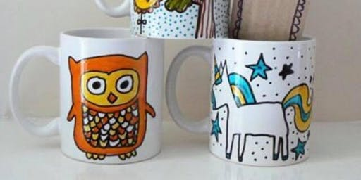 Kids Craft: Hand Paint a Mug