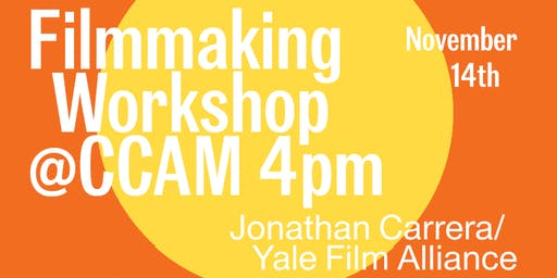 Film Workshop @ CCAM: Introduction to Adobe Premiere
