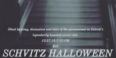 SCHVITZ HALLOWEEN with Motor City Ghost Hunters and GeminEye Tarot