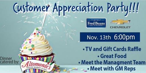 Copy of Fred Beans Chevrolet Customer Appreciation Party