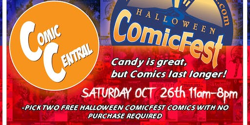 Free Comic Book Day 2.0 AKA Halloween Comicfest