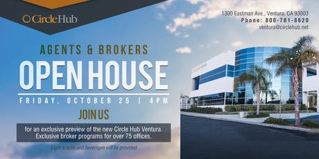 New Ventura Coworking Space - Brokers Open House Event tickets