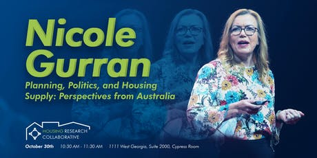 Planning, Politics, and Housing Supply: Perspectives from Australia tickets