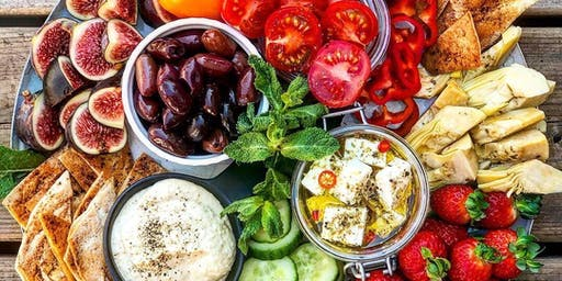 ALATABLE X ANDALOS create the perfect Mediterranean platter
