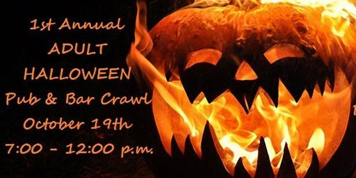 Adult Halloween Pub and Bar Crawl