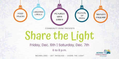 Share the Light - A Christmas Open House (Pre-registration) tickets