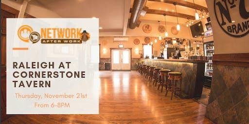 Network After Work Raleigh at Cornerstone Tavern