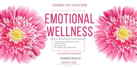 Emotional Wellness tickets