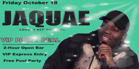 JAQUAE - Friday - 10-18-2019 in Miami Beach tickets