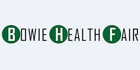 2020 Bowie Health Fair tickets