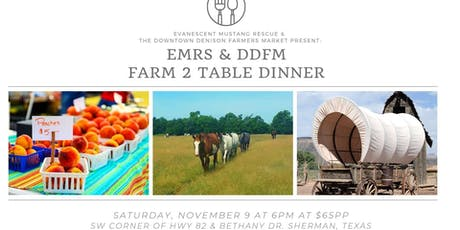 Fall 2019 F2T Dinner tickets