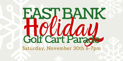 East Bank Golf Cart Parade
