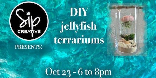 DIY Jellyfish Terrarium