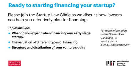 Understanding Early Stage Financing tickets