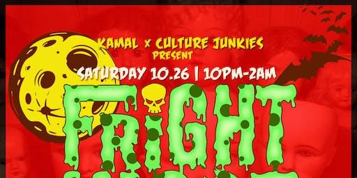 The Culture Junkies & Kamal Presents: Fright Night
