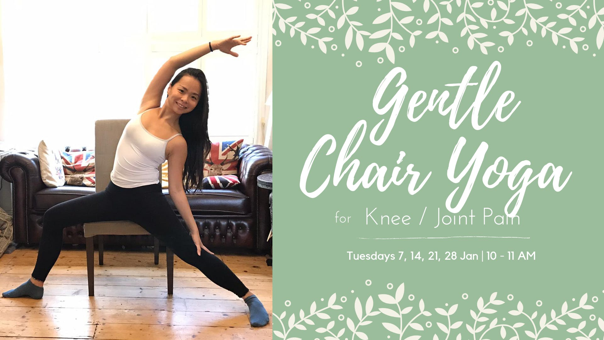 Gentle Chair Yoga for Knee / Joint Pain