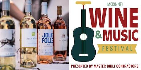 3rd Annual McKinney Wine & Music Festival tickets
