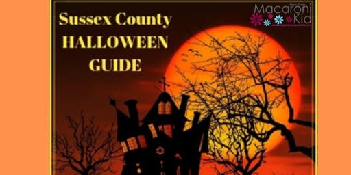 SUSSEX COUNTY HALLOWEEN SPOOKTACULAR GUIDE 2019