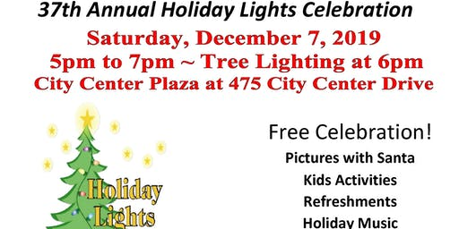 37th Annual Holiday Lights Celebration