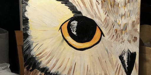 Afternoon of Paint - Val's Owl